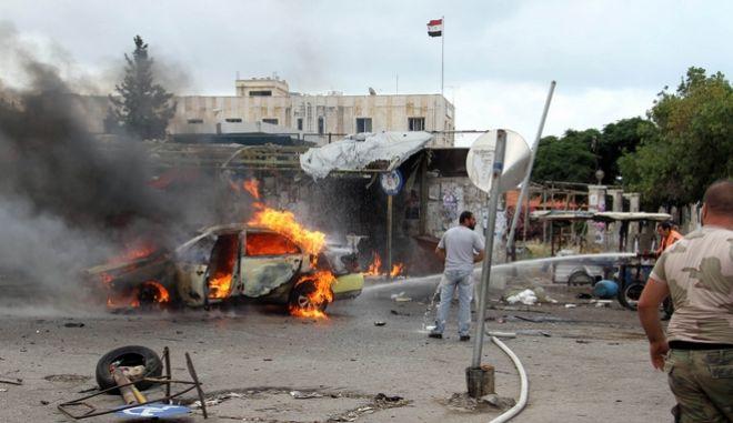 Συρία: Βομβιστική επίθεση αυτοκτονίας με 18 νεκρούς