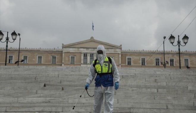 Η ISS Hellas ενάντια στον COVID-19 με καθημερινές απολυμάνσεις στην Αθήνα