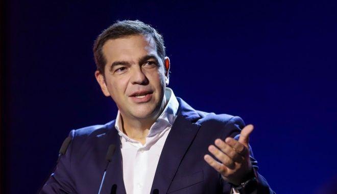 Ο Προέδρος του ΣΥΡΙΖΑ Π.Σ., Αλέξης Τσίπρας