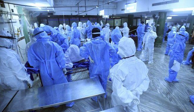 Νοσοκομείο στην Ινδία (ΦΩΤΟ ΑΡΧΕΙΟΥ)
