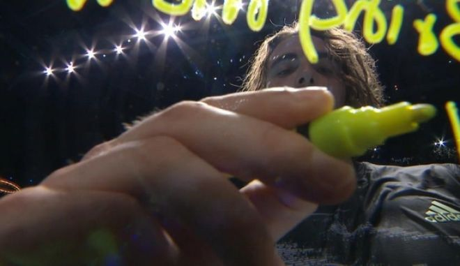 ATP Finals: Η αφιέρωση του Τσιτσιπά στην κάμερα μετά τον θρίαμβο