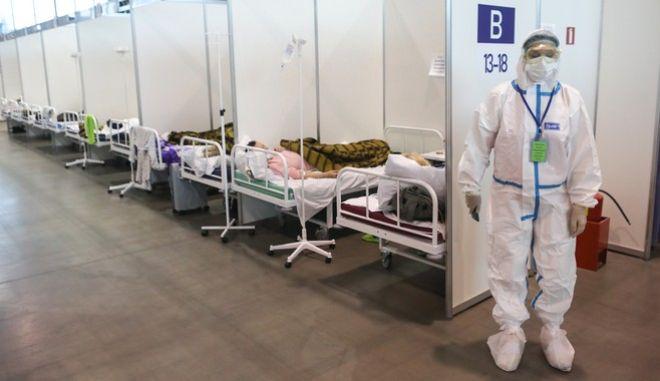 Νοσοκομείο covid στην Αγία Πετρούπολη