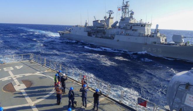 """Εθνική τεχνική άσκηση """"ΑΣΤΡΑΠΗ"""" του Πολεμικού Ναυτικού, στην ευρύτερη θαλάσσια περιοχή Σαρωνικού κόλπου και Μυρτώου Πελάγους"""