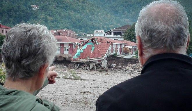 Κατέρρευσε το κέντρο Υγείας στο Μουζάκι