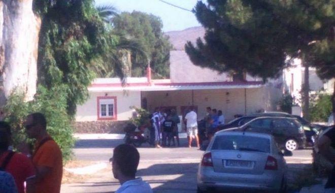Λέρος: Συγκέντρωση μελών της Χρυσής Αυγής εναντίον προσφύγων