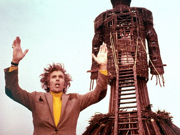 Christopher Lee in Robin Hardys THE WICKER MAN (1973). Courtesy: Rialto Pictures/ Studiocanal