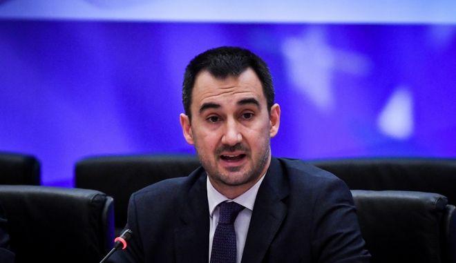 Αλέξης Χαρίτσης, Υπουργός Εσωτερικών