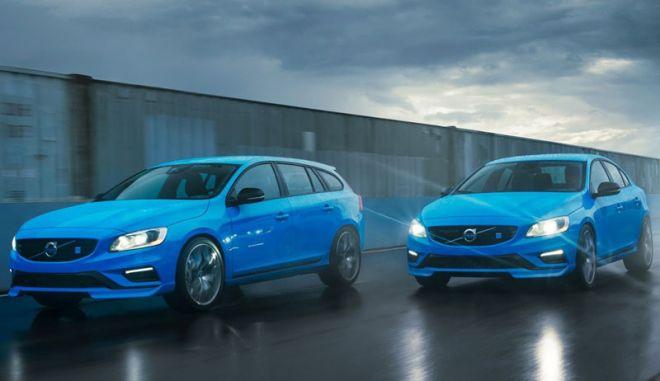 Volvo S60 Polestar και V60 Polestar. Για το δρόμο με προδιαγραφές πίστας