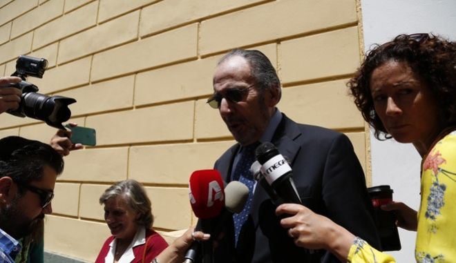 Ο πρώην προέδρος του Δ.Σ. του νοσοκομείου Ερρίκος Ντυνάν, Ανδρέας Μαρτίνης (φωτογραφία αρχείου)