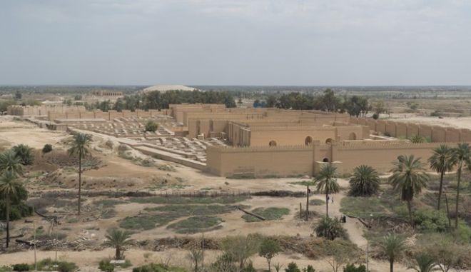 Η αρχαία Βαβυλώνα στο Ιράκ