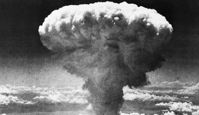 Φωτογραφία από την έκρηξη ατομική βόμβα στο Ναγκασάκι