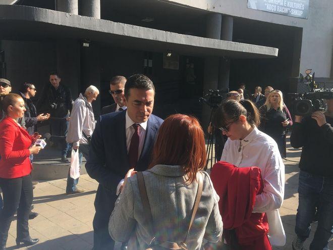 Δημοψήφισμα στα Σκόπια: Ψήφισε ο Ντιμιτρόφ
