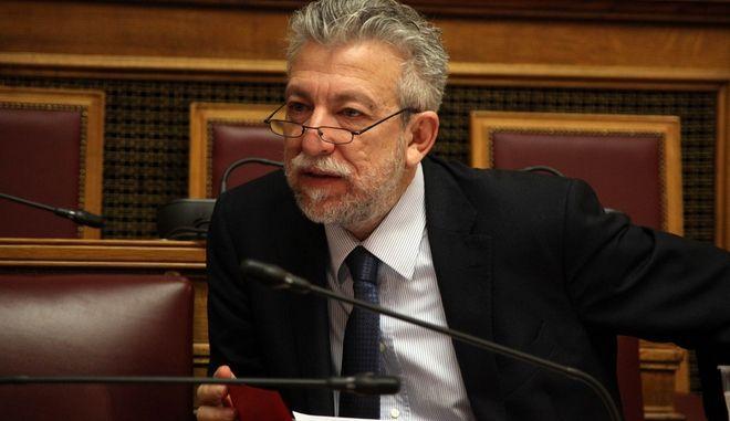 Διατύπωση γνώμης από τα μέλη της Επιτροπής Μορφωτικών Υποθέσεων, για διορισμό στη θέση του Προέδρου του Δ.Σ. του Ελληνικού Ιδρύματος Πολιτισμού (Ε.Ι.Π.), Κωνσταντίνου Τσουκαλά, την Πέμπτη 24 Μαρτίου 2016. (EUROKINISSI/ΑΛΕΞΑΝΔΡΟΣ ΖΩΝΤΑΝΟΣ)