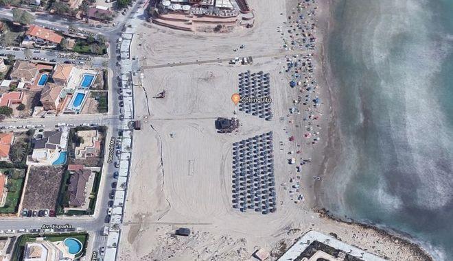 Η παραλία Cala Bosque