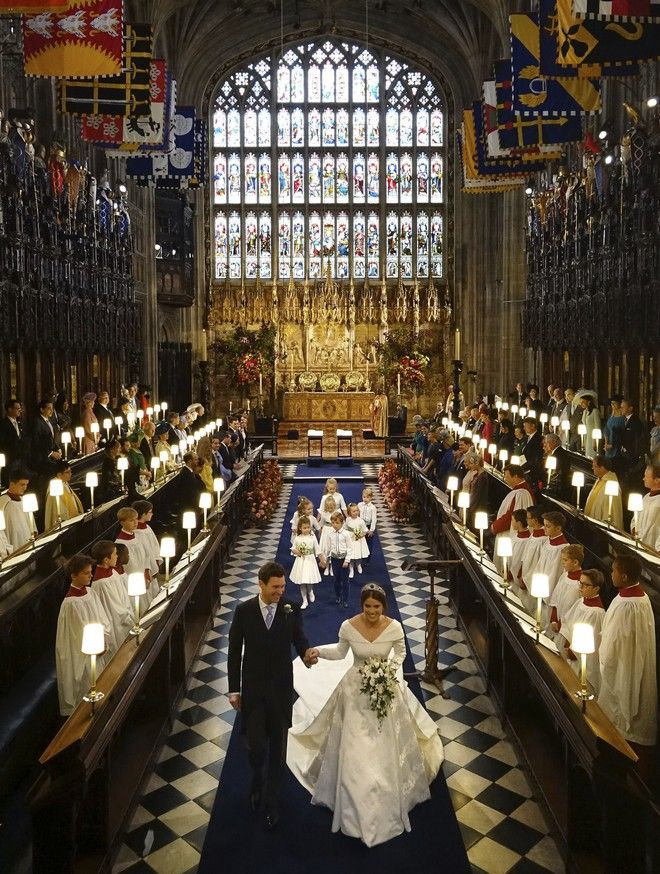 O γάμος της πριγκίπισσας Ευγενίας και του Τζακ Μπρούκσμπανκ