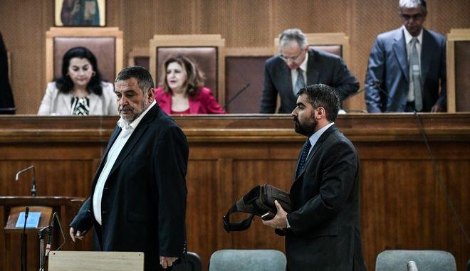 Απολογία των πρώην βουλευτών Δημήτρη Κουκούτση και Αρτέμη Ματθαιόπουλου στην δίκη της Χρυσής Αυγής