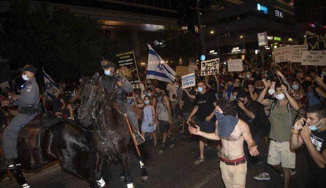 Διαδηλώσεις στο Ισραήλ