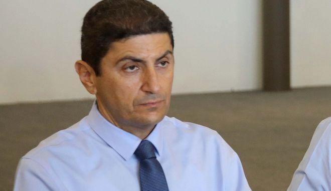 Ο γραμματέας της ΝΔ, Λευτέρης Αυγενάκης