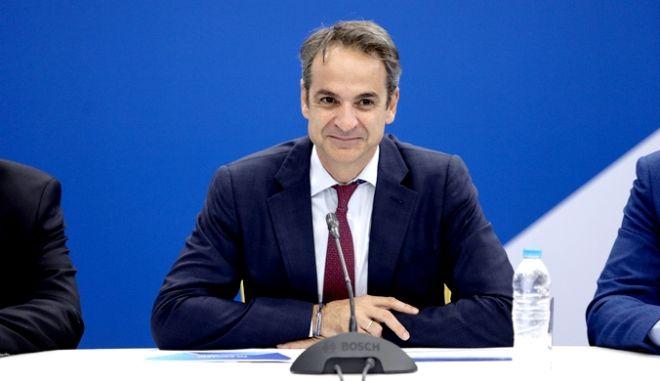 Παρουσία του προέδρου της Ν.Δ. και πρωθυπουργού Κυριάκου Μητσοτάκη συνεδριάσε η Οργανωτική Επιτροπή του 13ου Συνεδρίου. Παρασκευή 1 Νοεμβρίου.