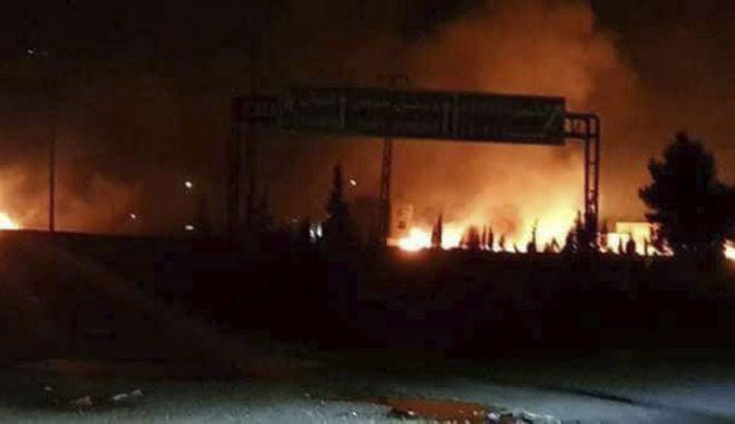 Ισραηλινοί πύραυλοι έπληξαν τομέα κοντά στη Δαμασκό
