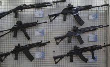 Kalashnikov machine guns