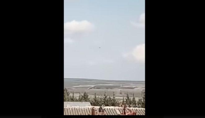 Τα τουρκικά μαχητικά πάνω από τον Έβρο