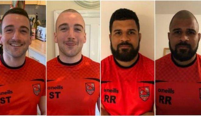 Βρετανία: Παίκτες ομάδας ράγκμπι ξυρίζουν τα κεφάλια τους για την ενίσχυση του NHS