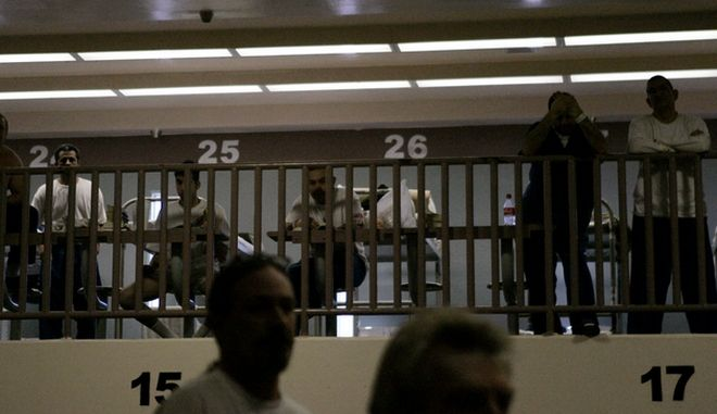 Φωτογραφία αρχείου από επεισόδια σε φυλακή έξω απ' το Λος Άντζελες