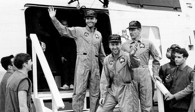 Από την επιτυχή επιστροφή των αστροναυτών του Apollo 13 στη Γη