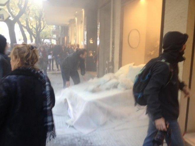 Πορεία στη Θεσσαλονίκη: Ζημιές σε καταστήματα