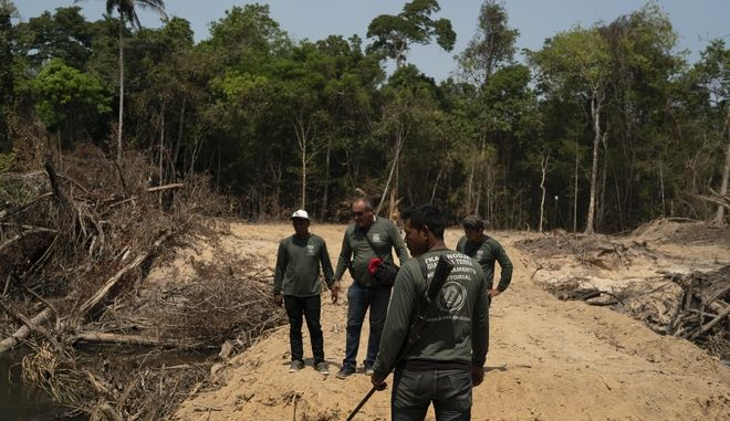Εικόνα από τον Αμαζόνιο στη Βραζιλία