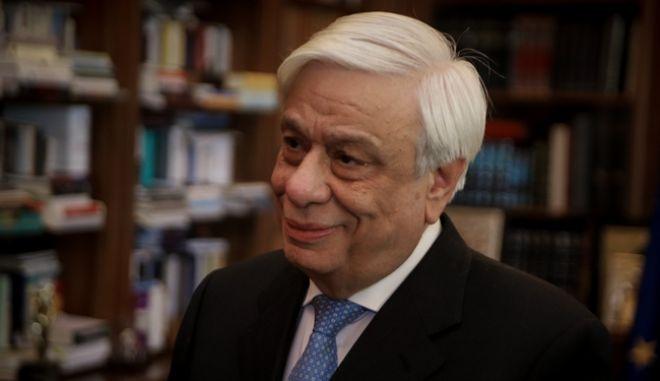Ο Πρόεδρος της Δημοκρατίας, Πρ. Παυλόπουλος