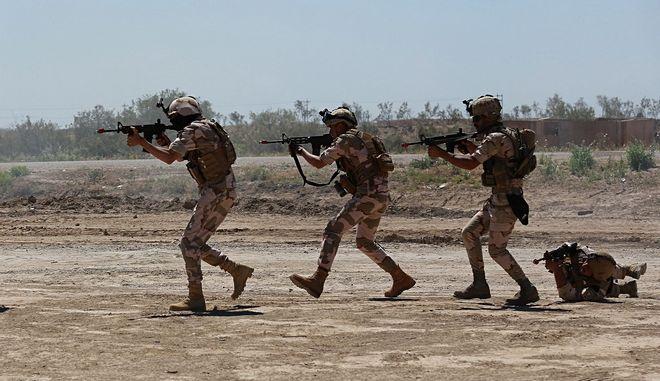 Αυστραλιανοί στρατιώτες στο Ιράκ - Φωτογραφία αρχείου
