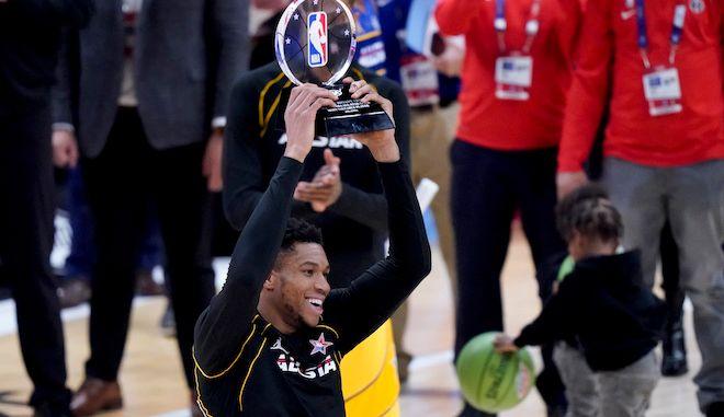 Ο Αντετοκούνμπο MVP στο NBA All-Star Game 2021