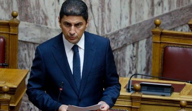 Ο Υφυπουργός Πολιτισμού και Αθλητισμού, Λευτέρης Αυγενάκης