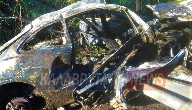 Συγκλονιστικό τροχαίο: Μόλις έβγαλαν τον οδηγό από το όχημα εξερράγη