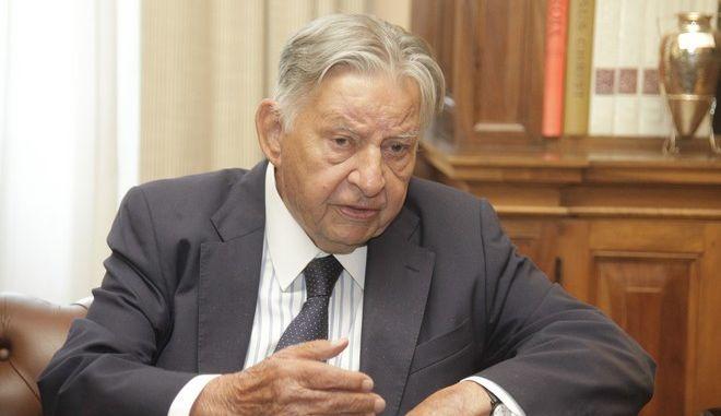 O πρωην αντιπρόεδρος της Νέας Δημοκρατίας, Ιωάννης Βαρβιτσιώτης