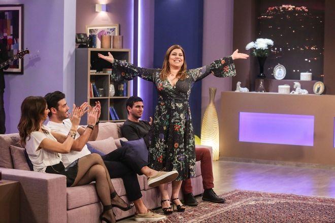 Μπέτυ Μαγγίρα, Κώστας Μαρτάκης και Μαριέλα Σαββίδου, αντιμέτωπο με τους Ρένο Ρώτα, Φανή Γεωργακοπούλου και Σπύρος Πούλης στο Celebrity Game Night