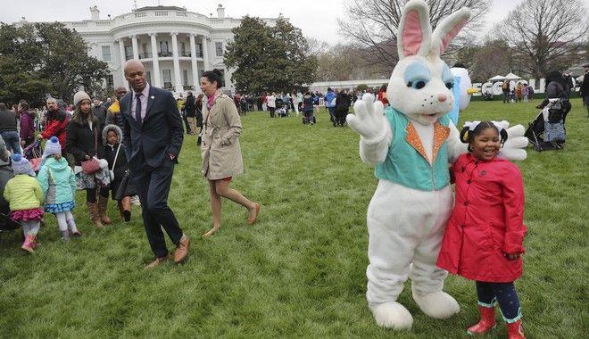Πάσχα στο Λευκό Οίκο (AP Photo/Pablo Martinez Monsivais)