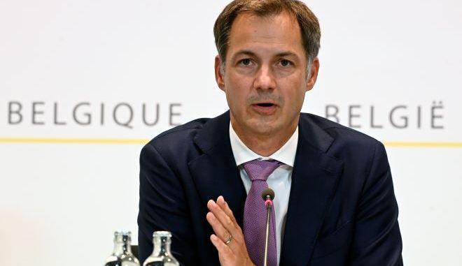 Ο πρωθυπουργός του Βελγίου, Αλεξάντερ Ντε Κρου