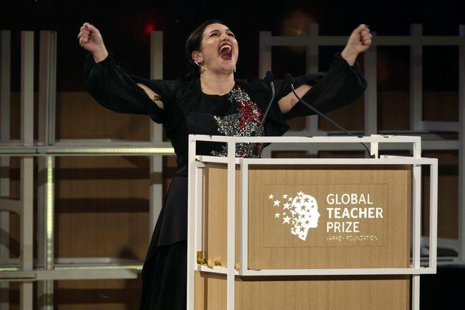 Η Andria Zafirakou, καλύτερη δασκάλα του κόσμου