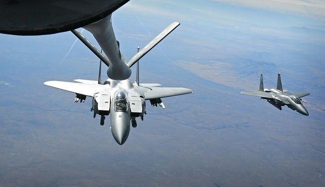 Αεροσκάφος F-15 (φωτογραφία αρχείου)