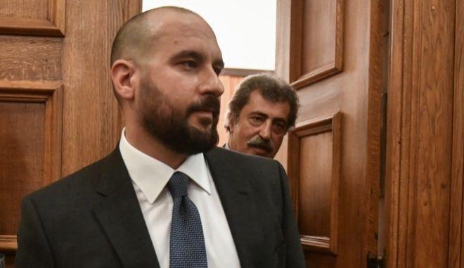Δημήτρης Τζανακόπουλος και Παύλος Πολάκης