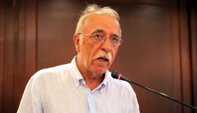 Δημόσια εκδήλωση - διαβούλευση για τα θέματα του νομοσχεδίου για την Ιδιωτική πολεοδόμηση, τους Οικοδομικούς συνεταιρισμούς και τα Δάση, διοργάνωσε η  Κοινοβουλευτική Ομάδα του ΣΥΡΙΖΑ και το Τμήμα Οικολογίας β Περιβάλλοντος β Χωρικού σχεδιασμού, την Τρίτη 29 Ιουλίου 2014.  (EUROKINISSI/ΚΩΣΤΑΣ ΚΑΤΩΜΕΡΗΣ)