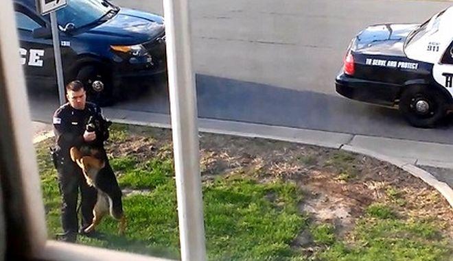 Βίντεο αποτροπιασμού: Αστυνομικός στην Indiana κακοποιεί λαγωνικό K-9