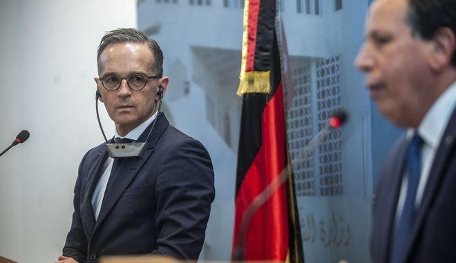 Υπουργοί εξωτερικών Τυνησίας και Γερμανίας