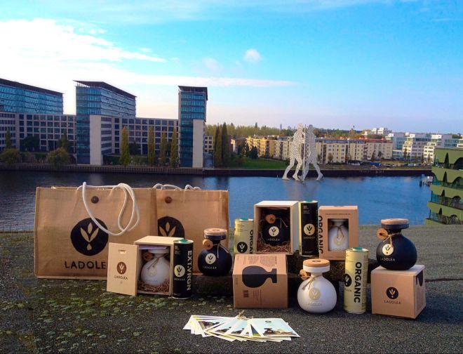 Ένα λάδι 'ολυμπιακών διαστάσεων' που κερδίζει διεθνή αναγνώριση