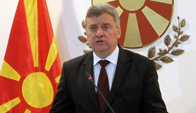 Ο πρόεδρος της ΠΓΔΜ αρνήθηκε να δώσει διερευνητική εντολή στο δεύτερο κόμμα