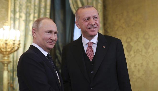 Βλαντίμιρ Πούτιν και Ρετζέπ Ταγίπ Ερντογάν