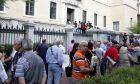 Συγκέντρωση διαμαρτυρίας συνταξιούχων (Φωτογραφία αρχείου)
